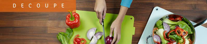ustensiles de cuisine pour la decoupe : couteaux,rapes,mandolines